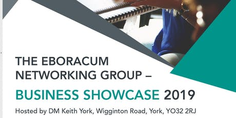 FREE Business Showcase and Networking Event by Eboracum Networking  tickets