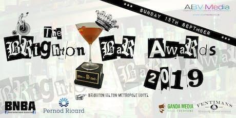 Brighton Bar Awards 2019 tickets