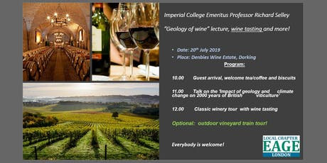 EAGE London: Geology of Wine Tour in Dorking tickets