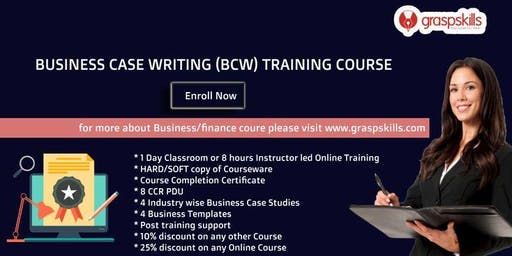 Business Case Writing (BCW) Training Course - Hyderabad,India