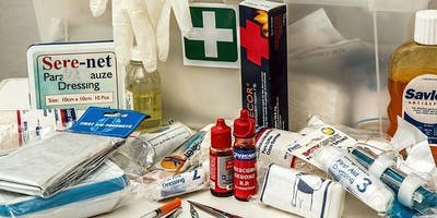 Level 3 Award in Emergency First Aid at Work - Monday 27th January 2020 (ONE DAY) - WINSFORD 1-5 BID