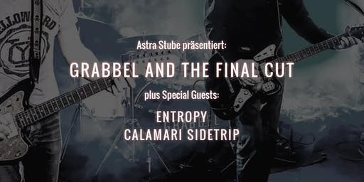 GRABBEL AND THE FINAL CUT plus special guests. Live in Hamburg, Astra Stube