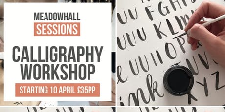 The Calligraphy Sessions Meadowhall - INK & BRUSH tickets