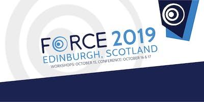 FORCE2019 - Edinburgh