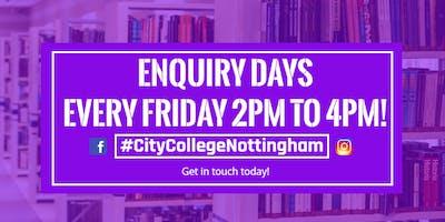 City College Nottingham - Course Enquiry Days