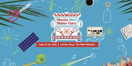Manila Mini Maker Faire 2019 tickets