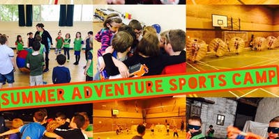 FORRES SUMMER ADVENTURE SPORTS CAMP 4 DAY TICKETS 8TH OF JULY-11TH OF JULY