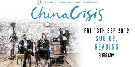China Crisis (Sub89, Reading) tickets