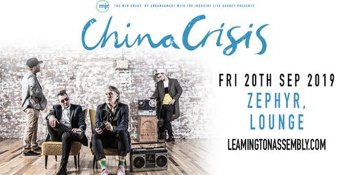China Crisis (Zephyr Lounge, Leamington Spa)