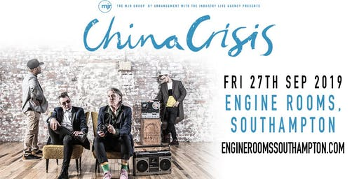China Crisis (Engine Rooms, Southampton)
