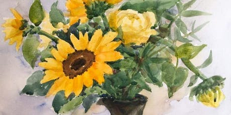 Watercolour classes x4 in June tickets