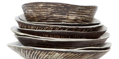 CERAMICS Hand-building organic forms and vessels with SUE MUNDY Tues 25June