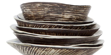 CERAMICS Hand-building organic forms and vessels with SUE MUNDY Tues 25June tickets