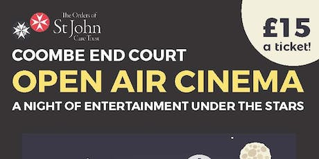 Open Air Cinema at Coombe End Court tickets