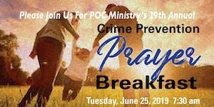 2019 POC Ministry Crime Prevention Breakfast