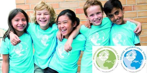 COLOGNE INTERNATIONAL SCHOOL - Open House / Tag der offenen Tür