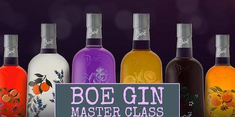 Boe Gin Master Class tickets