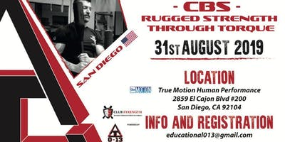 """Rugged Strength Through Torque""        Club Strength      Workshop"