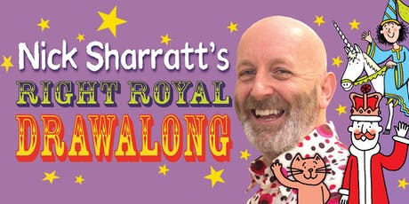 Nick Sharratt's Right Royal Drawalong tickets
