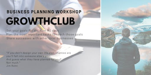 GrowthCLUB: 90 Day Business Planning - July