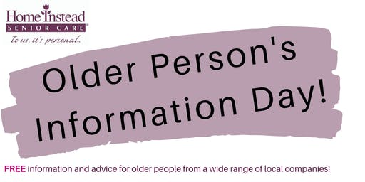 Older Person's Information Day!