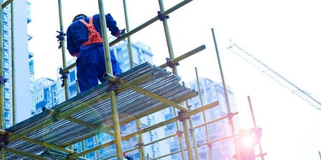 Level 2 Award in Working at Height - Thursday 27th February 2020 - WINSFORD 1-5 BID tickets