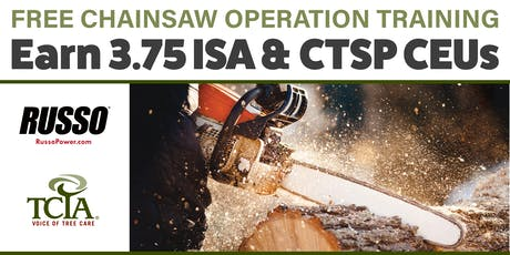 Professional Chainsaw Operation Training tickets