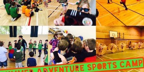ELGIN SUMMER ADVENTURE SPORTS CAMP FULL WEEK MONDAY 1ST OF JULY-FRIDAY 5TH OF JULY. FULL WEEK tickets