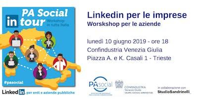 LinkedIn per le imprese - Workshop per le aziende