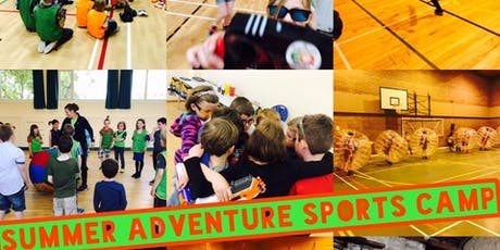 BUCKIE SUMMER ADVENTURE SPORTS CAMP FULL WEEK MONDAY 22ND OF JULY-FRIDAY 26TH OF JULY tickets