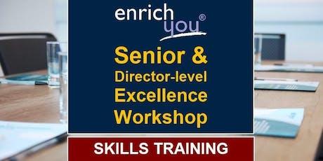 Director/Senior-level Workshop tickets