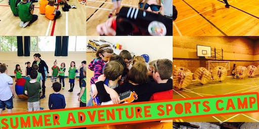 BUCKIE SUMMER ADVENTURE SPORTS CAMP SINGLE DAY TICKETS MONDAY 22ND OF JULY-FRIDAY 26TH OF JULY