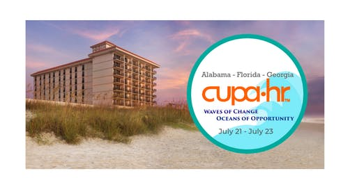 Waves of Change, Oceans of Opportunity; AL-FL-GA CUPA HR Conference!