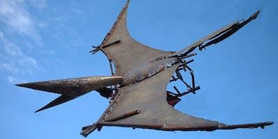Skulpturen aus Schrott schweißen