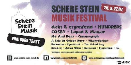 Schere Stein Musik Festival  Tickets