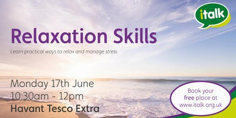 Relaxation Skills - Havant tickets