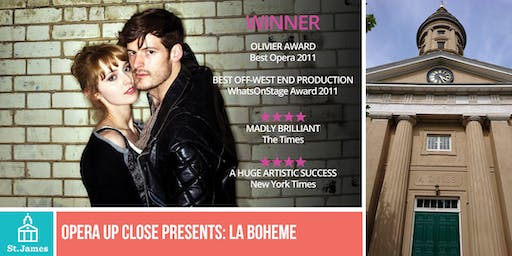 Opera Up Close presents La Boheme