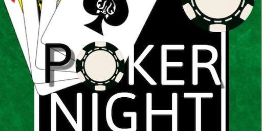 Blue Flames Fun Poker night