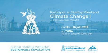 Startup Weekend Lyon Climate Change billets