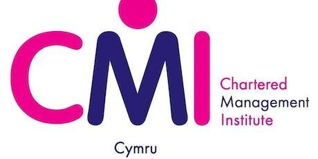 Transformational Coaching: behavioural change that has impact - CMI Cymru at USW, Newport tickets