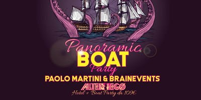 BOAT PARTY Milanomarittima - GuestDj PAOLO MARTINI & BRAIN EVENTS