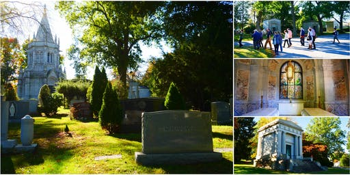 Unlocking Private Gilded Age Mausoleums @ Woodlawn Cemetery