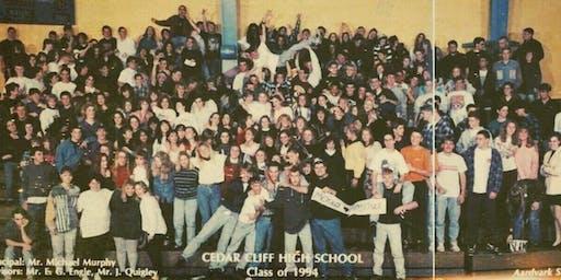 Cedar Cliff Class of '94 25th Reunion