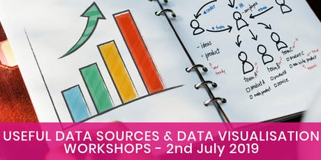 Using data sources  AND  Data visualisation with free and low cost tools tickets
