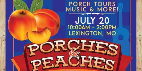 Porches and Peaches tickets
