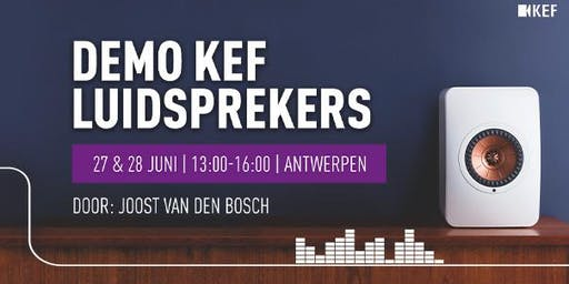 Demo KEF Luidsprekers
