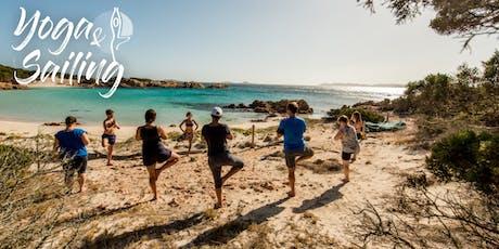 Yoga and sailing retreat Sardinia&Corsica  Tickets