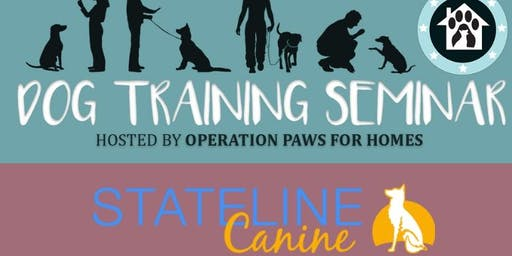OPH Rescue Training Seminar with Stateline Canine