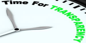 """""""TIME FOR TRANSPARENCY: ACCELERATING OUR JOURNEY..."""