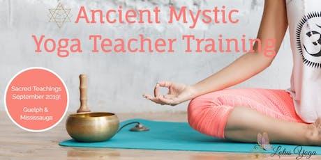 Ancient Mystic Yoga Teacher Training (Guelph) Information Night! tickets
